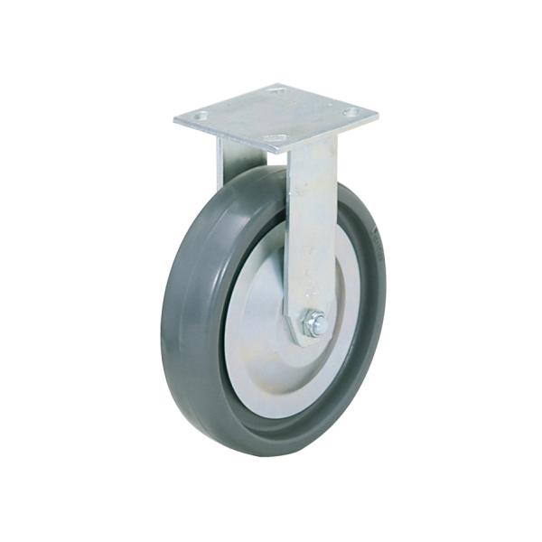 写真の車輪はソリッド・エラストマーです。