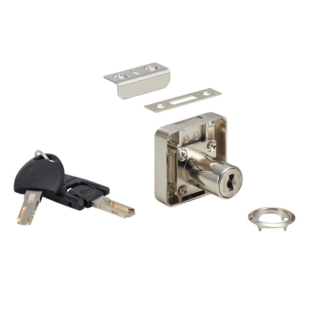 ※(1) CL33型を使用時、写真の鍵穴は横向きになります。