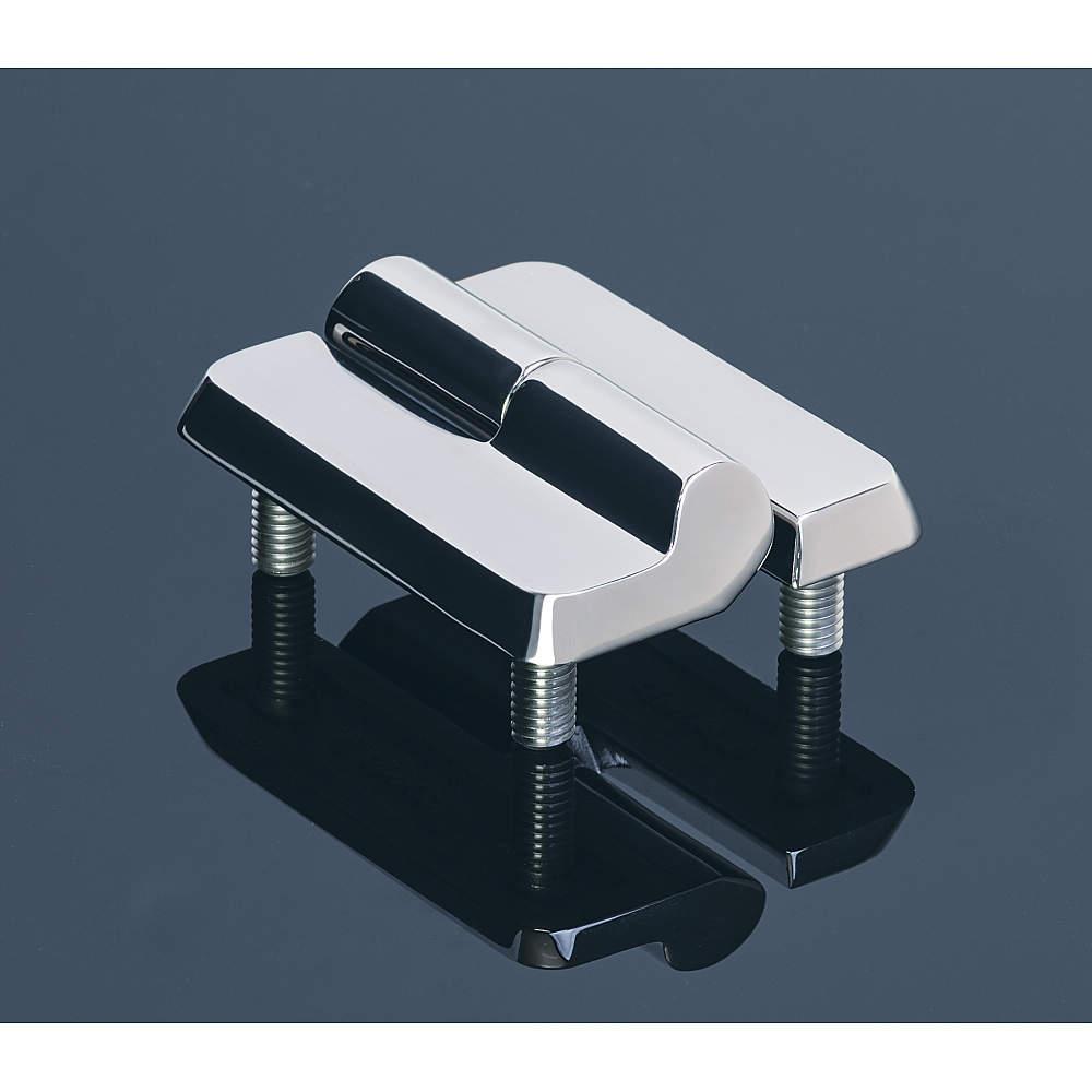表面がフラットで、側面に傾斜があり、角は丸みを帯びた洗浄しやすい形状です。
