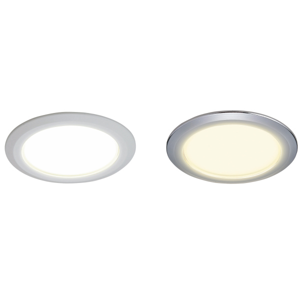 LEDダウンライト本体とデコリングの組み合わせ