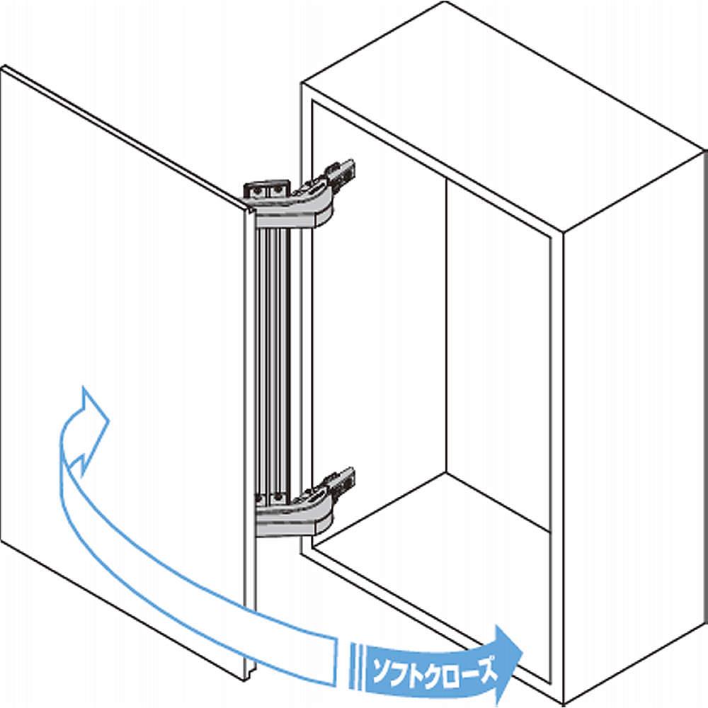 本図は2本吊りの場合を<br>示します。