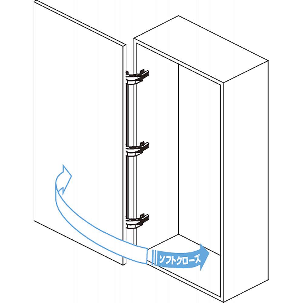 本図は3本吊りの場合を<br>示します。