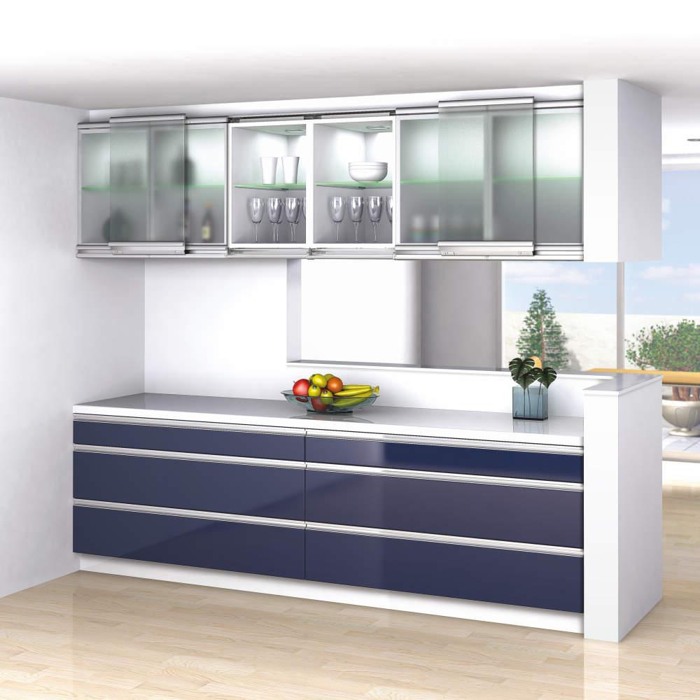 鏡扉仕様は、ガラス扉仕様のスペック範囲内で施工可能です。
