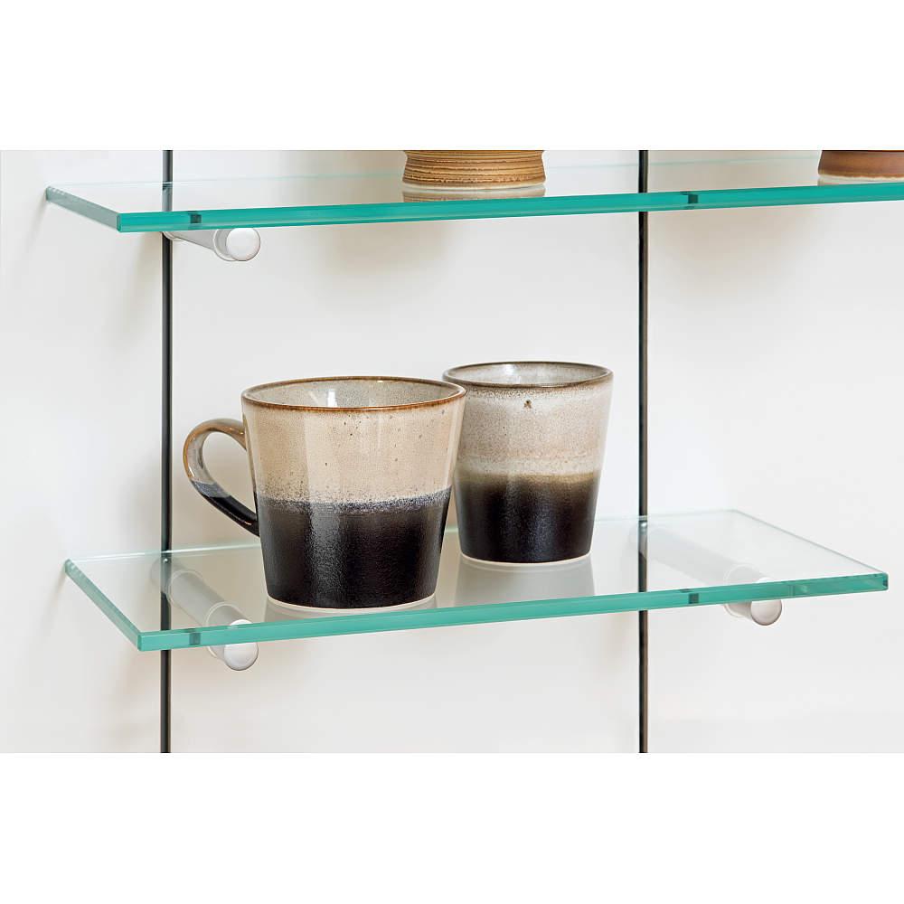 ガラスの棚を作ることも可能です。