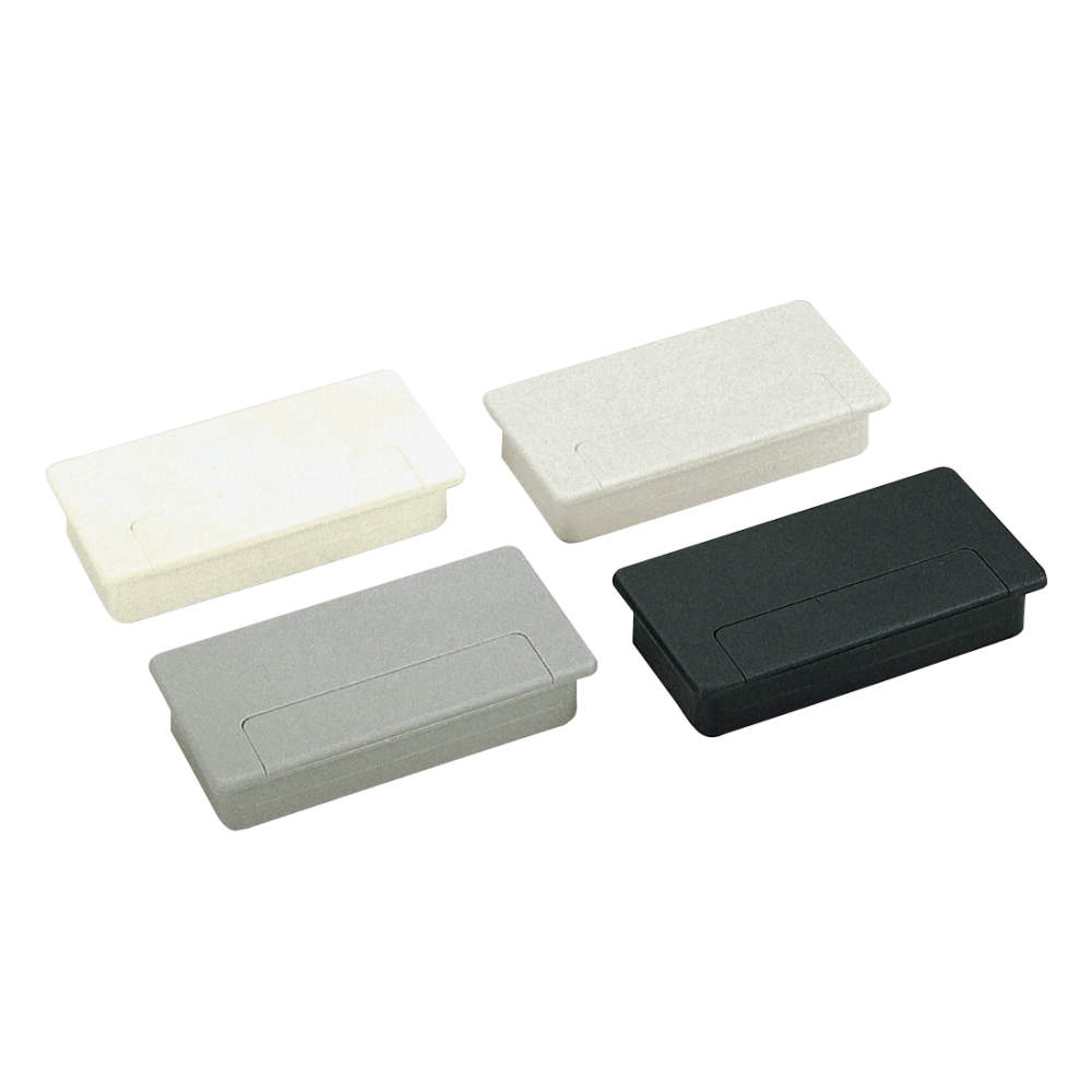 配線孔キャップ s100 50型 スガツネ工業 lamp印の機能 デザイン金物