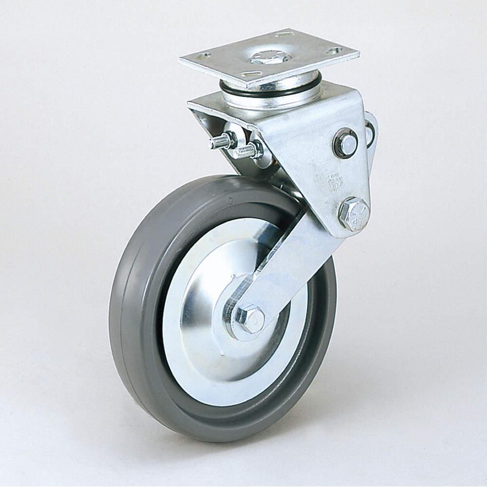 写真の車輪はSE/ソリッド・エラストマーです。