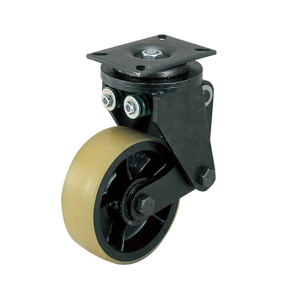 写真の車輪は、U/ダーコ・ウレタンです。