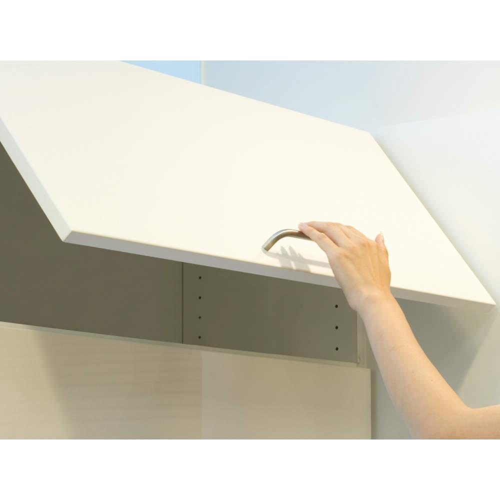 ●ソフトダウン機能<br><br>約0°〜30°の範囲では、扉から手を離しても、ゆっくりと閉まり安全です。