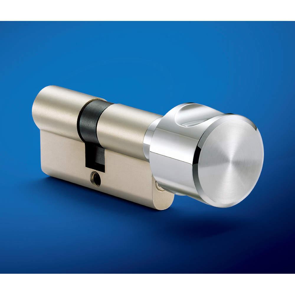 写真はプロファイルシリンダー錠 14E5型との組み合わせです。<br>※プロファイルシリンダー錠は現品と一部仕様が異なります。