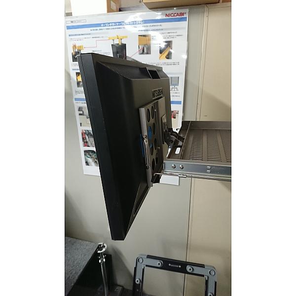 回転収納式LCDドロワー