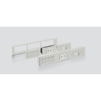 【組み合わせ例】<br>別売のフレーム、空気孔パネル、配線孔パネル、コンセント・USB・LAN(下記組み合わせ一覧参照)と組み合わせて使用します。