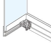 ステンレス鋼製大型扉用スライド丁番 MICROMASTER