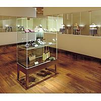 【施工イメージ】ガラスショーケース金物XL-GCシリーズ
