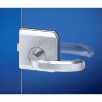 ステンレス鋼製ガラスドア用レバーハンドルロックセット